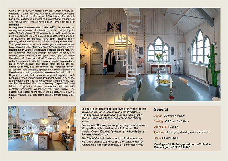 Faversham Estate Agents - Professionally Brochures