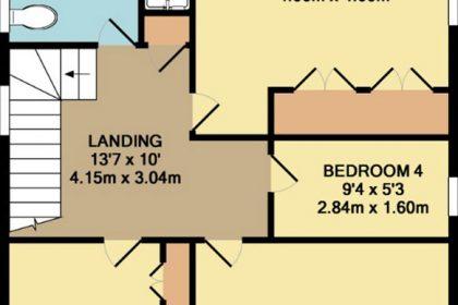 Faversham Estate Agents - Coloured Floor Plans